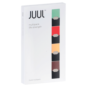 JUUL Multipack Flavour Pods (Pack of 4) – 5%