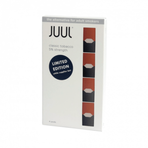JUUL Classic Tobacco Pods (Pack of 4)
