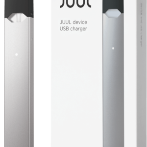 Silver JUUL Device Kit – Vaporizer and Charger (Canada)