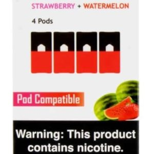 Mr. Fog Pods for JUUL – Strawberry & Watermelon 6% (Pack of 4)