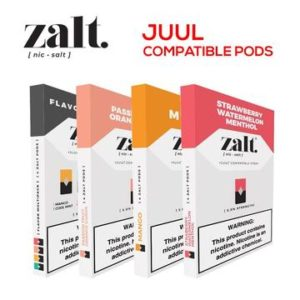 ZALT PRE-FILLED REPLACEMENT PODS (JUUL COMPATIBLE)